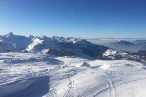 Een skigebied bezoeken in de zomer: 5 tips
