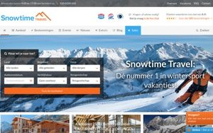 snowtime travel website