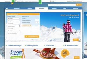 Vrij Uit Wintersport Website