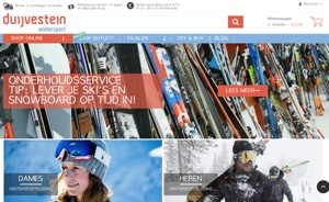 duijvestein wintersport website