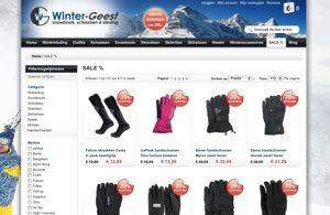 winter-geest website