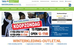 winterkleding-outlet.nl website