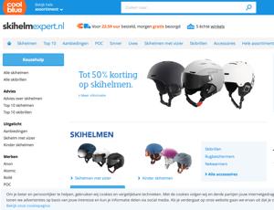 skihelmexpert.nl website