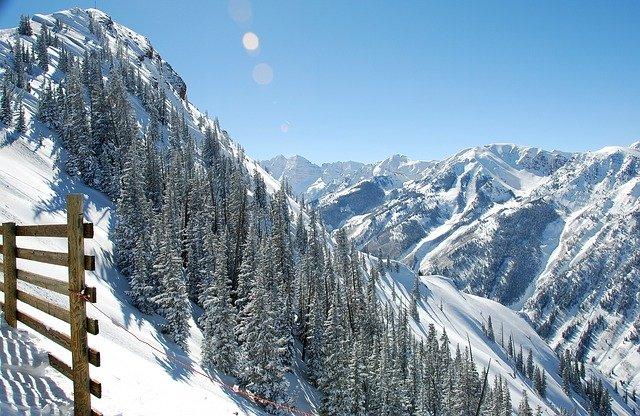 Aspen wintersportoord in de Verenigde staten