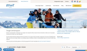 Estivant wintersport website